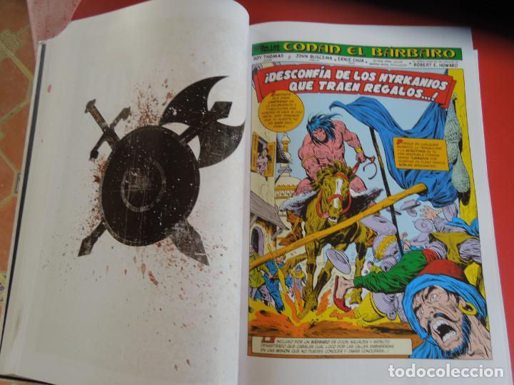 Cómics: CONAN EL BARBARO - VOLUMEN 2 - LA ETAPA MARVEL ORIGINAL - MARVEL OMNIBUS 2019 - Foto 3 - 277077883