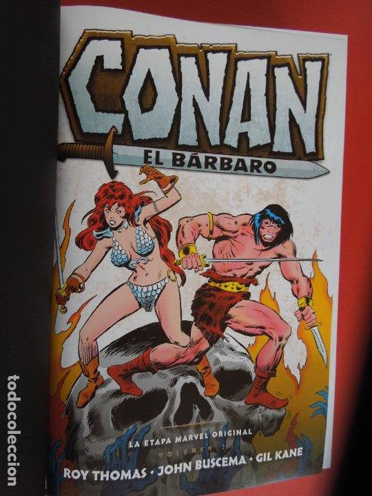 Cómics: CONAN EL BARBARO - VOLUMEN 2 - LA ETAPA MARVEL ORIGINAL - MARVEL OMNIBUS 2019 - Foto 7 - 277077883