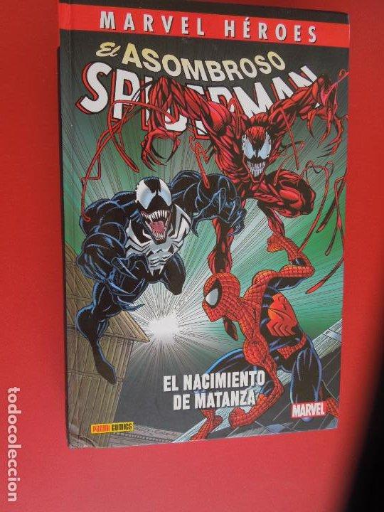 EL ASOMBROSO SPIDERMAN - EL NACIMIENTO DE MATANZA-MARVEL -CHRIS MARRINAN , MARK BAGLEY-2020 (Tebeos y Comics - Forum - Spiderman)