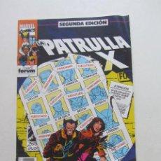 Cómics: LA PATRULLA X - Nº 3 SEGUNDA EDICION FORUM MUCHOS EN VENTA PIDE FALTAS ARX15. Lote 277144788