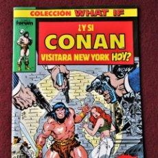 Cómics: COLECCIÓN WHAT IF CONAN Nº 1 FORUM 1989 DE TIENDA .VER DESCRIPCIÓN Y FOTOS.. Lote 277146258