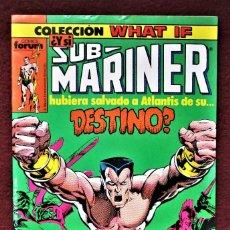 Cómics: COLECCIÓN WHAT IF SUB MARINER Nº 3 FORUM 1989 DE TIENDA .VER DESCRIPCIÓN Y FOTOS.. Lote 277146953