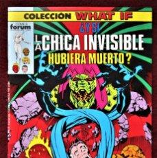 Cómics: COLECCIÓN WHAT LA CHICA INVISIBLE Nº 5 FORUM 1989 DE TIENDA .VER DESCRIPCIÓN Y FOTOS.. Lote 277148048