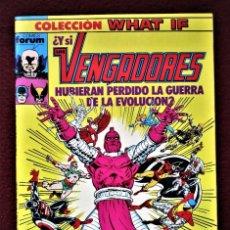 Cómics: COLECCIÓN WHAT LOS VENGADORES Nº 8 FORUM 1989 DE TIENDA .VER DESCRIPCIÓN Y FOTOS.. Lote 277149158