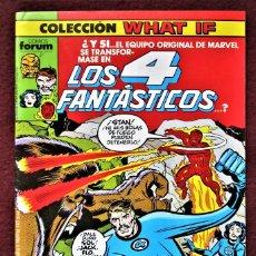 Cómics: COLECCIÓN WHAT LOS 4 FANTÁSTICOS Nº 6 FORUM 1989 EXCELENTE. VER DESCRIPCIÓN Y FOTOS.. Lote 277149573