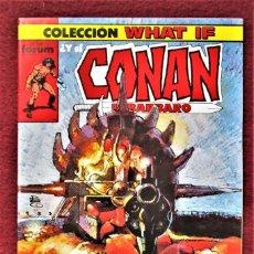 Cómics: COLECCIÓN WHAT CONAN Nº 12 FORUM 1989 EXCELENTE. VER DESCRIPCIÓN Y FOTOS.. Lote 277150048