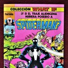 Cómics: COLECCIÓN WHAT SPIDERMAN Nº 10 FORUM 1989 MUY BUEN ESTADO. VER DESCRIPCIÓN Y FOTOS.. Lote 277150818