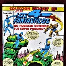 """Cómics: COLECCIÓN WHAT LOS 4 FANTÁSTICOS Nº 14 FORUM 1990 MUY BUENO PERO """"SUCIO"""". VER DESCRIPCIÓN Y FOTOS.. Lote 277151553"""