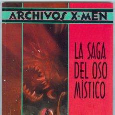Cómics: PLANETA. FORUM. X MEN ARCHIVOS. 1. LA SAGA DEL OSO MISTICO.. Lote 277176343