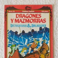 Cómics: DRAGONES Y MAZMORRAS Nº 12: LOS NIÑOS PERDIDOS - EDICIONES FORUM 1985. Lote 277179448