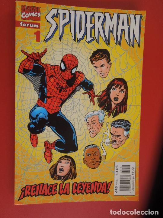 SPIDERMAN !RENACE LA LEYENDA ! MARVEL COMICS FORUN LOMO ROJO DEL Nº 1 AL 31 AMBOS INCLUIDOS (Tebeos y Comics - Forum - Spiderman)