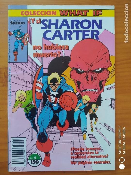 COLECCION WHAT IF Nº 4 - ¿Y SI SHARON CARTER NO HUBIERA MUERTO? - MARVEL - FORUM (FZ) (Tebeos y Comics - Forum - Otros Forum)