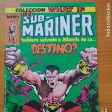 Cómics: COLECCION WHAT IF Nº 3 - ¿Y SI SUB-MARINER HUBIERA SALVADO A ATLANTIS DE SU DESTINO? - FORUM (FZ). Lote 277184603