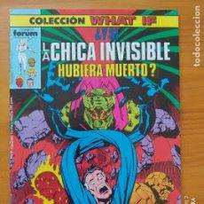 Cómics: COLECCION WHAT IF Nº 5 - ¿Y SI LA CHICA INVISIBLE HUBIERA MUERTO? - MARVEL - FORUM (FZ). Lote 277184863