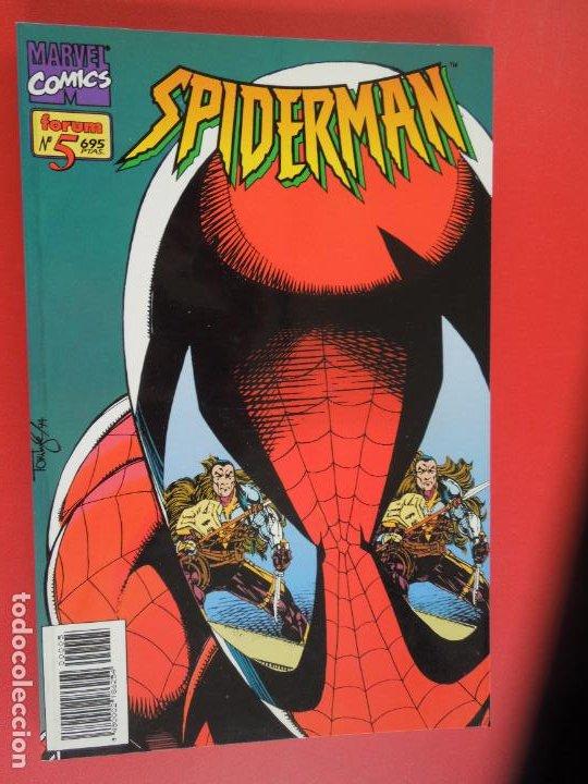 Cómics: SPIDERMAN - FORUM LOMO BLANCO DEL 1 AL 18 - MUY BUEN ESTADO - Foto 5 - 277185488