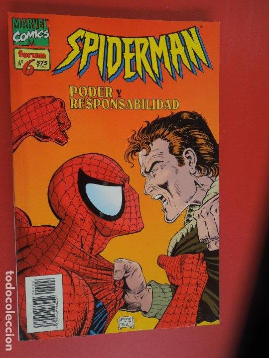 Cómics: SPIDERMAN - FORUM LOMO BLANCO DEL 1 AL 18 - MUY BUEN ESTADO - Foto 6 - 277185488