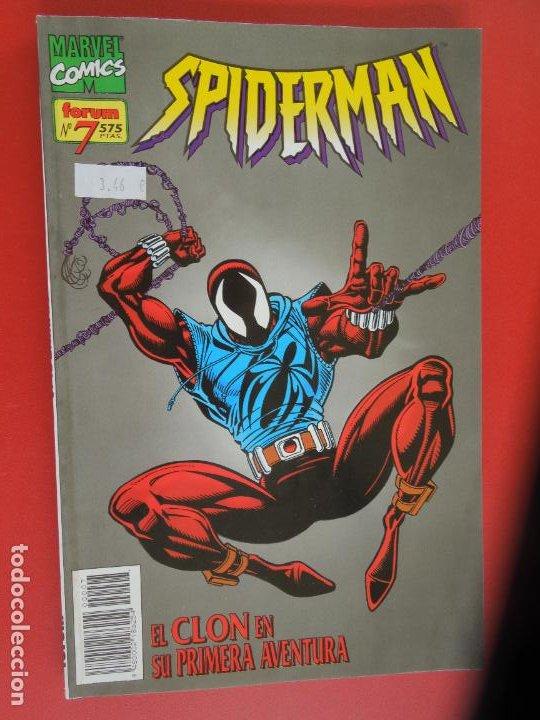 Cómics: SPIDERMAN - FORUM LOMO BLANCO DEL 1 AL 18 - MUY BUEN ESTADO - Foto 7 - 277185488