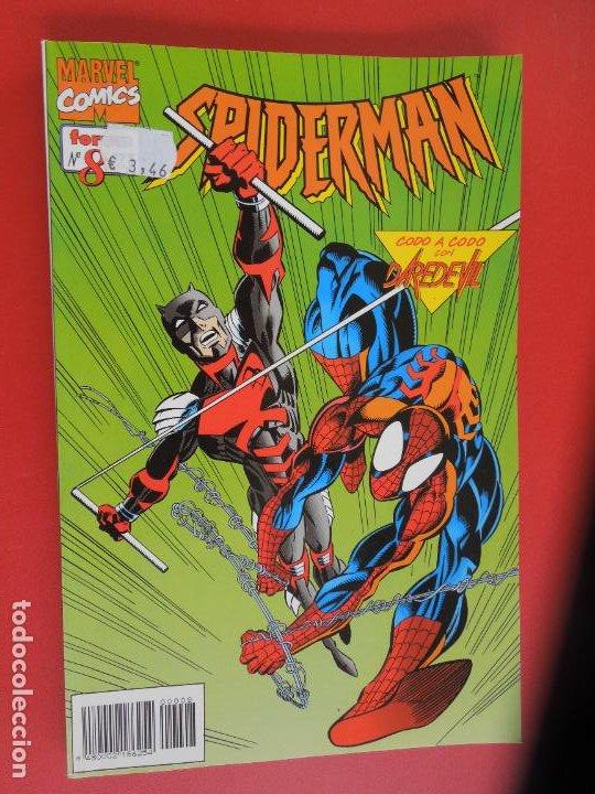 Cómics: SPIDERMAN - FORUM LOMO BLANCO DEL 1 AL 18 - MUY BUEN ESTADO - Foto 8 - 277185488