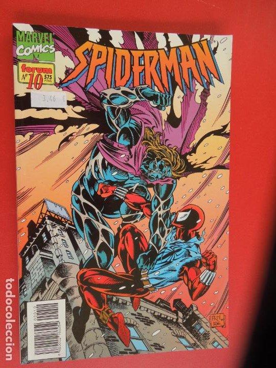 Cómics: SPIDERMAN - FORUM LOMO BLANCO DEL 1 AL 18 - MUY BUEN ESTADO - Foto 10 - 277185488