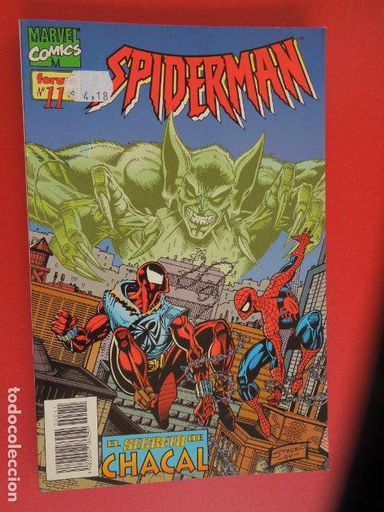 Cómics: SPIDERMAN - FORUM LOMO BLANCO DEL 1 AL 18 - MUY BUEN ESTADO - Foto 11 - 277185488