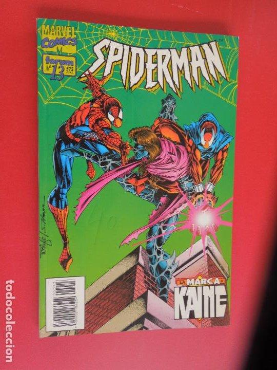 Cómics: SPIDERMAN - FORUM LOMO BLANCO DEL 1 AL 18 - MUY BUEN ESTADO - Foto 12 - 277185488