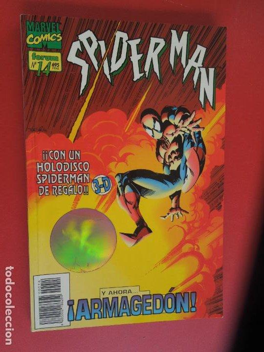 Cómics: SPIDERMAN - FORUM LOMO BLANCO DEL 1 AL 18 - MUY BUEN ESTADO - Foto 13 - 277185488