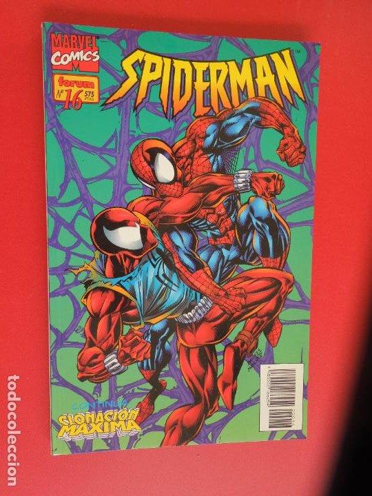 Cómics: SPIDERMAN - FORUM LOMO BLANCO DEL 1 AL 18 - MUY BUEN ESTADO - Foto 16 - 277185488