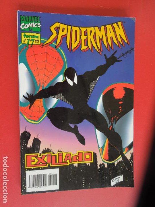 Cómics: SPIDERMAN - FORUM LOMO BLANCO DEL 1 AL 18 - MUY BUEN ESTADO - Foto 17 - 277185488