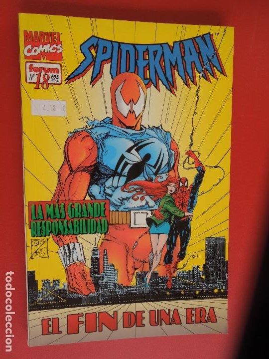 Cómics: SPIDERMAN - FORUM LOMO BLANCO DEL 1 AL 18 - MUY BUEN ESTADO - Foto 18 - 277185488