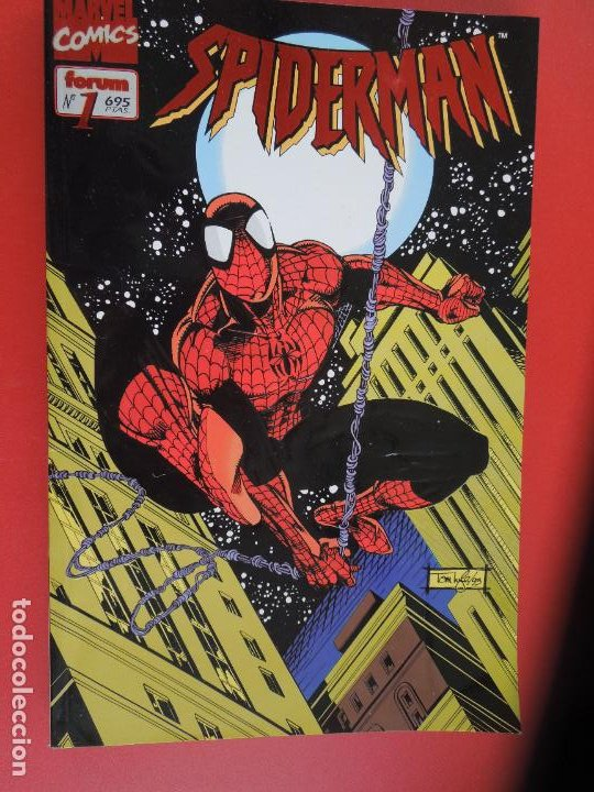 SPIDERMAN - FORUM LOMO BLANCO DEL 1 AL 18 - MUY BUEN ESTADO (Tebeos y Comics - Forum - Spiderman)