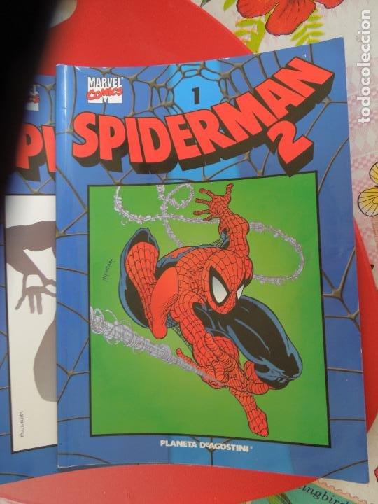 SPIDERMAN 2 COLECCIONABLE SERIE AZUL COMPLETA 40 EJEMPLARES PLANETA DEAGOSTINI. 2004. MARVEL COMICS (Tebeos y Comics - Forum - Spiderman)