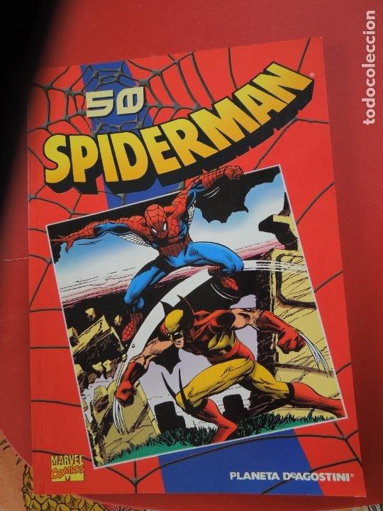 Cómics: SPIDERMAN 1 COLECCIONABLE SERIE ROJA COMPLETA 50 EJEMPLARES PLANETA DEAGOSTINI. 2000. Marvel comics - Foto 2 - 277187668