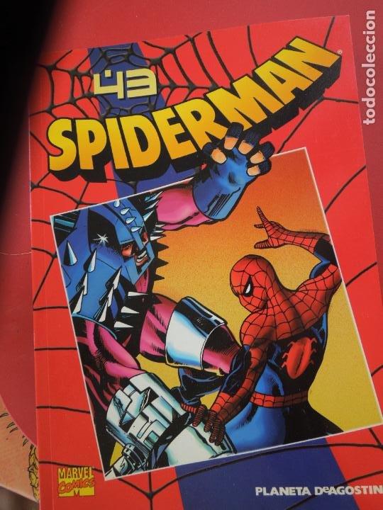 Cómics: SPIDERMAN 1 COLECCIONABLE SERIE ROJA COMPLETA 50 EJEMPLARES PLANETA DEAGOSTINI. 2000. Marvel comics - Foto 4 - 277187668