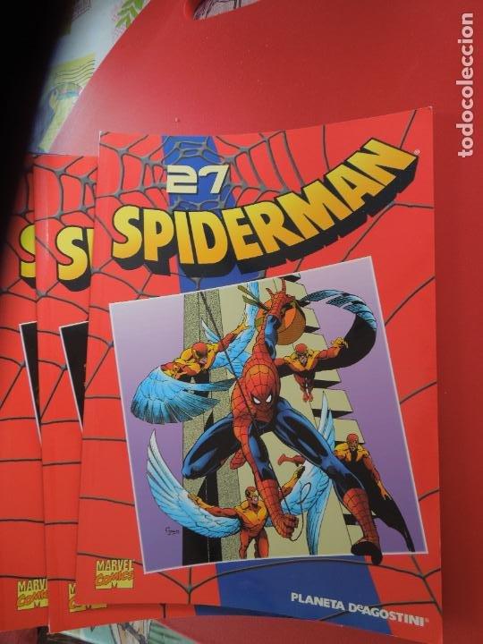 Cómics: SPIDERMAN 1 COLECCIONABLE SERIE ROJA COMPLETA 50 EJEMPLARES PLANETA DEAGOSTINI. 2000. Marvel comics - Foto 5 - 277187668