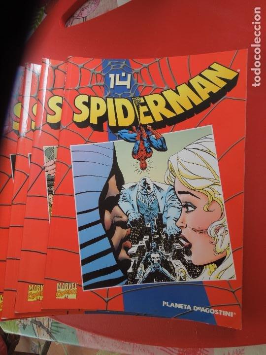Cómics: SPIDERMAN 1 COLECCIONABLE SERIE ROJA COMPLETA 50 EJEMPLARES PLANETA DEAGOSTINI. 2000. Marvel comics - Foto 7 - 277187668