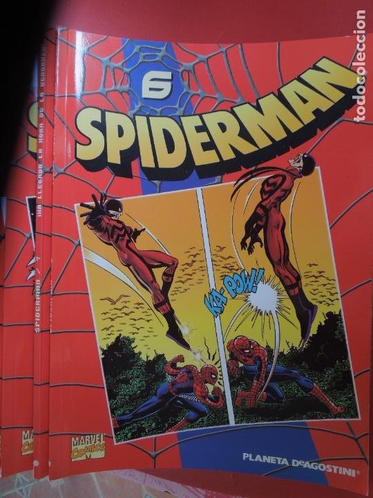 Cómics: SPIDERMAN 1 COLECCIONABLE SERIE ROJA COMPLETA 50 EJEMPLARES PLANETA DEAGOSTINI. 2000. Marvel comics - Foto 8 - 277187668