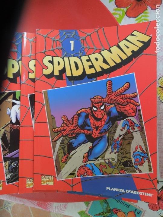 SPIDERMAN 1 COLECCIONABLE SERIE ROJA COMPLETA 50 EJEMPLARES PLANETA DEAGOSTINI. 2000. MARVEL COMICS (Tebeos y Comics - Forum - Spiderman)