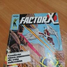 Cómics: MARVEL FACTOR X AÑOS 80 ED. FORUM. NºS DEL 1 AL 5. Lote 277187723