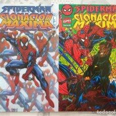 Cómics: SPIDERMAN CLONACION MAXIMA ALPHA Y OMEGA. DOS ESPECIALES. COMICS FORUM 1996. Lote 277220883