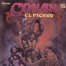 Cómics: NOVELAS GRAFICAS CONAN COLOR Nº 1 CONAN EL PICARO - FORUM - MUY BUEN ESTADO. Lote 277225108