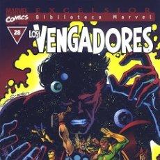 Cómics: BIBLIOTECA MARVEL LOS VENGADORES 28. Lote 277227338