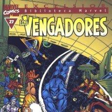 Cómics: BIBLIOTECA MARVEL LOS VENGADORES 27. Lote 277227903