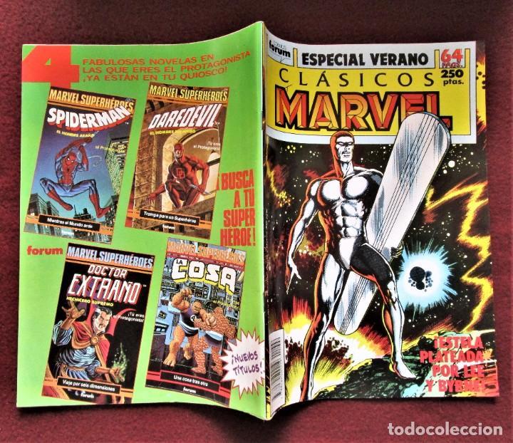 Cómics: CLÁSICOS MARVEL Especial verano Estela Plateada De tienda.Ver descripción y fotos - Foto 3 - 277246698