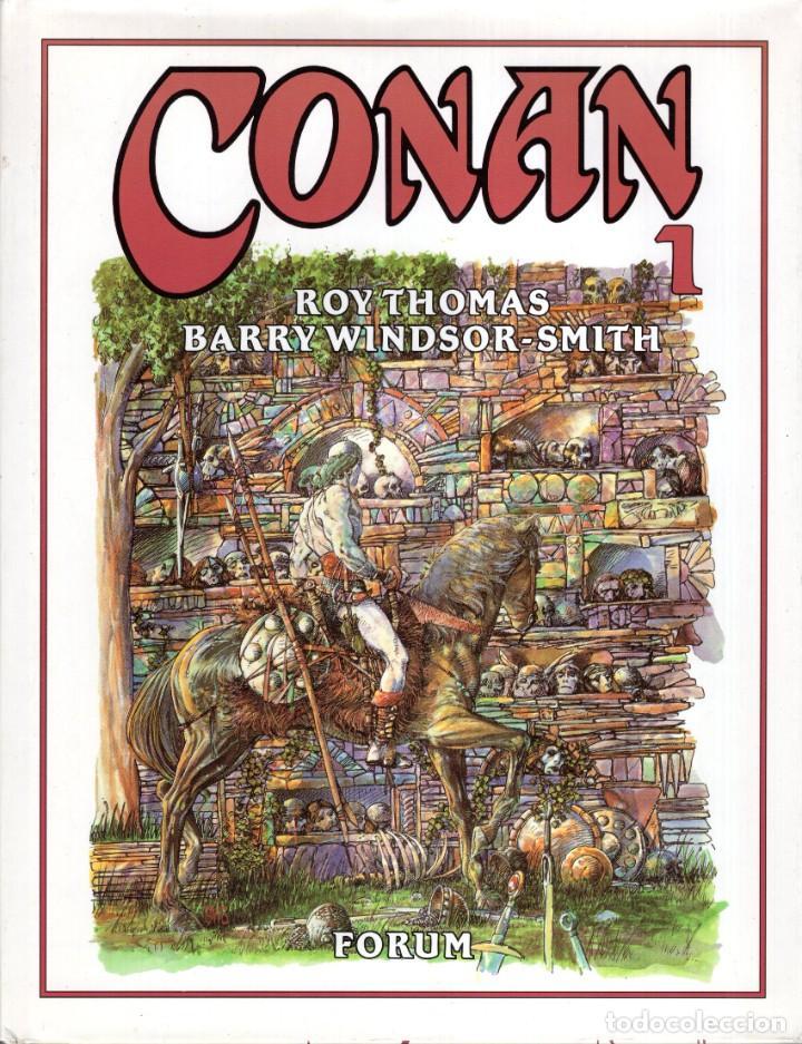 CONAN DE BARRY WINDSOR SMITH Nº 1 - FORUM - CARTONE - MUY BUEN ESTADO (Tebeos y Comics - Forum - Conan)