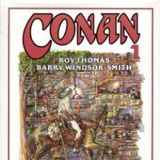 Cómics: CONAN DE BARRY WINDSOR SMITH Nº 1 - FORUM - CARTONE - MUY BUEN ESTADO. Lote 277286893