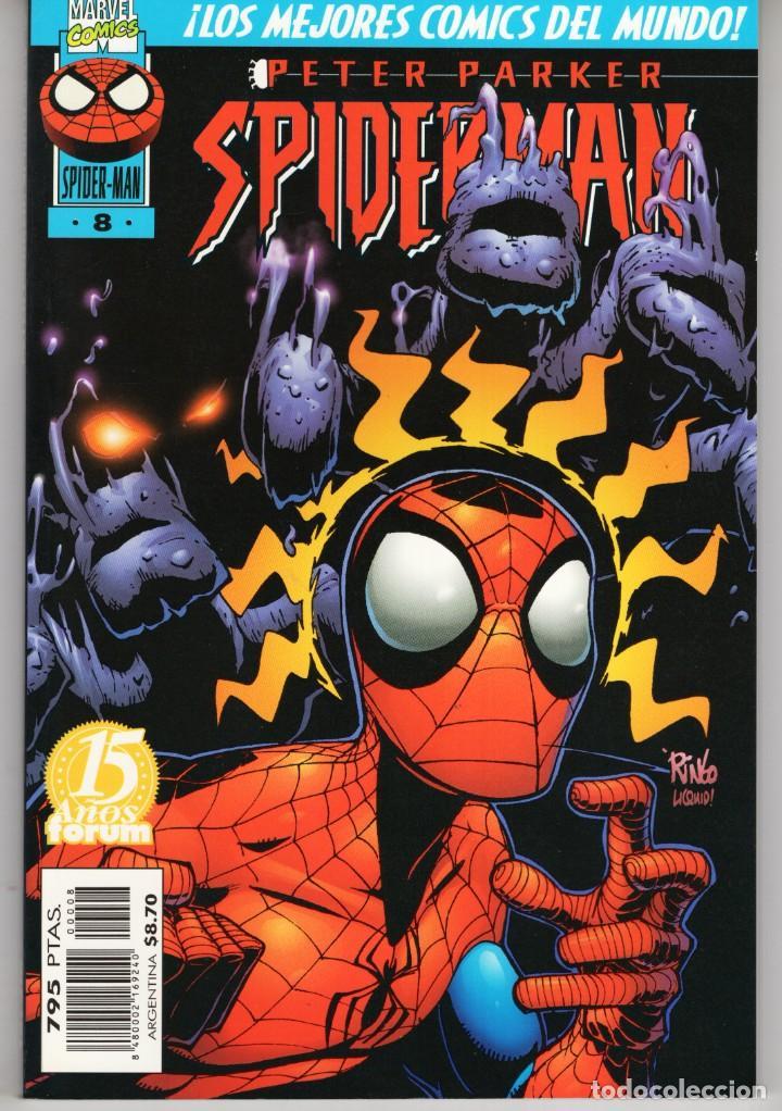 SPIDERMAN PETER PARKER VOL. 4 Nº 8 - FORUM - IMPECABLE (Tebeos y Comics - Forum - Spiderman)