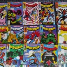 Cómics: SPIDERMAN SEGUNDA EDICION, LOTE DE 15 EJEMPLARES. - FORUM. Lote 277512788