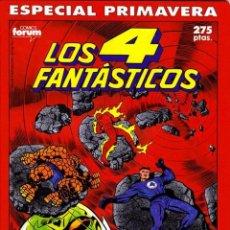 Cómics: LOS 4 FANTASTICOS ESPECIAL PRIMAVERA 1990 90 STAN LEE JACK KIRBY NACIMIENTO DE FRANKLIN B. RICHARDS. Lote 277582323