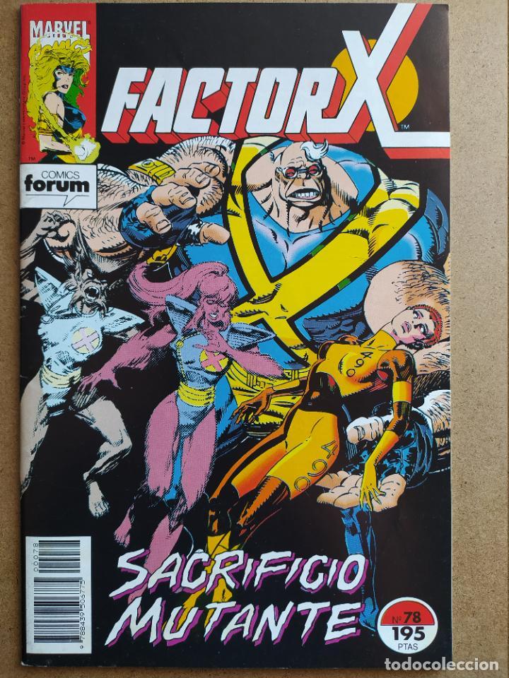 FACTOR-X VOLUMEN 1 - 78 (Tebeos y Comics - Forum - Factor X)