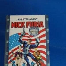 Cómics: COMIC. NICK FURIA, AGENTE DE SHIELD. JIM STERANKO. FORUM. PLANETA-DEAGOSTINI. 2000. TAPA DURA, 250 P. Lote 277687703